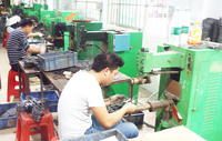 Touch welding department